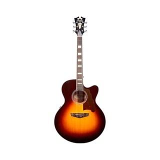 D'Angelico Premier Madison Acoustic-Electric Guitar - Vintage Sunburst
