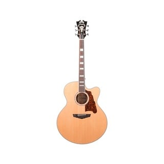 D'Angelico Premier Madison Acoustic-Electric Guitar - Natural