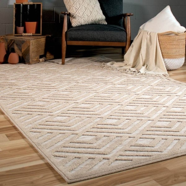Orian Rugs Boucle Canada: Shop Orian Rugs Boucle Indoor/Outdoor Charlton Driftwood