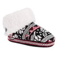 MUK LUKS® Women's Melinda Bootie Slippers