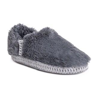 MUK LUKS® Women's Joana Faux Fur Moccasin Slippers