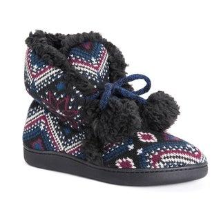 MUK LUKS® Women's Lulu Bootie Slippers