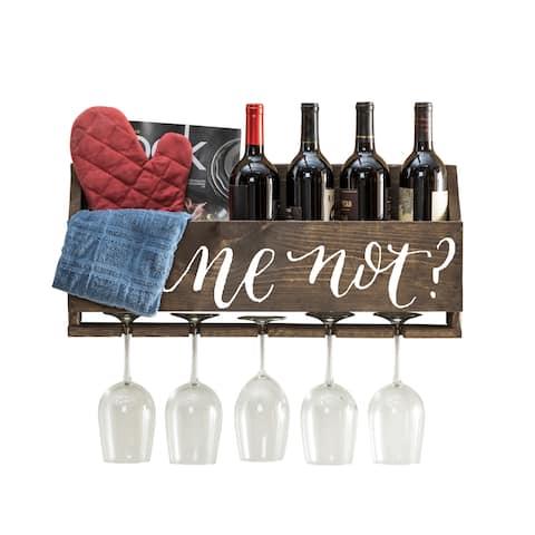Le Luxe 'Wine Not' by Del Hutson Designs