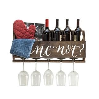 Handmade Le Luxe 'Wine Not' by Del Hutson Designs