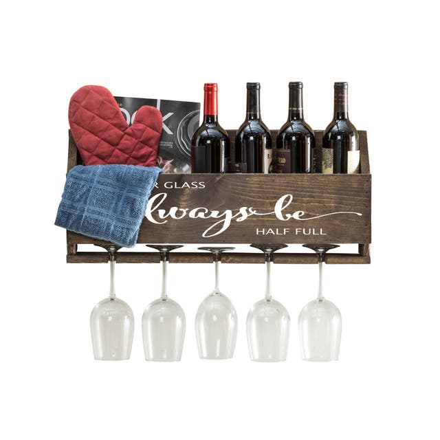 Le Luxe 'Always Be' Wine Rack by Del Hutson Designs
