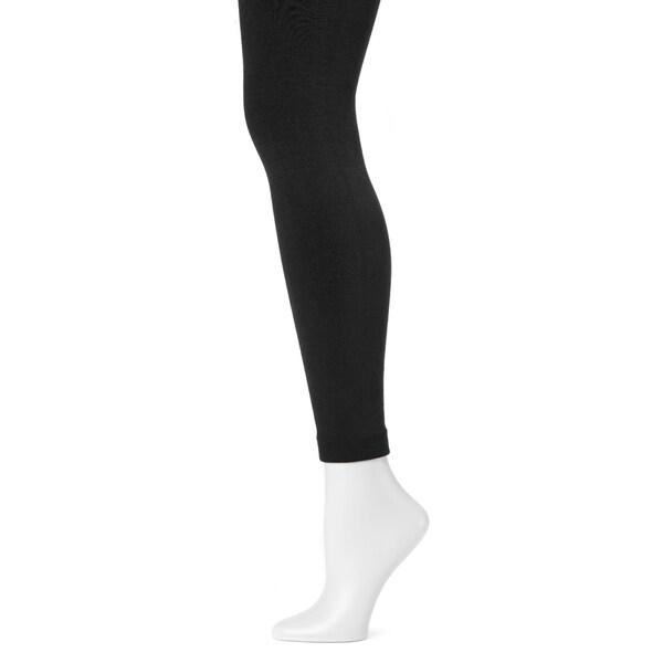 344e751467584 Shop MUK LUKS® Women's Fleece-Lined Leggings - Free Shipping On ...