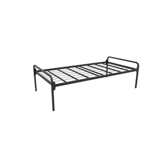 Rize Black Steel Top-deck Trundle with Arms
