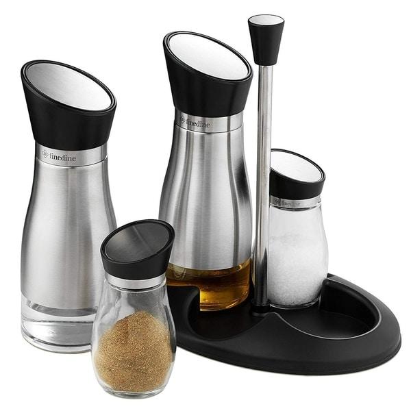 Salt Shaker E Jar Container Set
