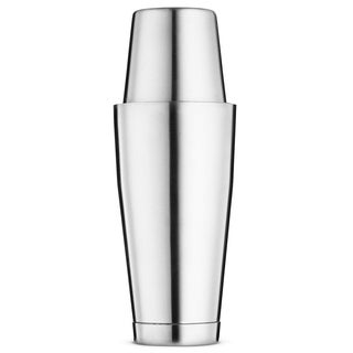 Bartender Boston Cocktail Shaker Set - Includes 28oz and 18oz Cocktail Shaker - 18/8 Durable Food Grade Stainless Steel Shaker