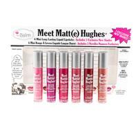 theBalm Meet Matt(e) Hughes Vol. 3 Long-Lasting Mini Liquid Lipstick Set