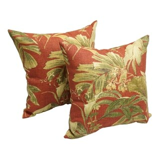 Spice Jungle 17-inch Indoor/Outdoor Throw Pillow (Set of 2)