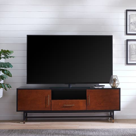 Carbon Loft Belize Mid-century Modern Media Console TV Stand