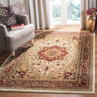 "Safavieh Lyndhurst Traditional Oriental Ivory/ Red Rug - 5'3"" x 7'6"""