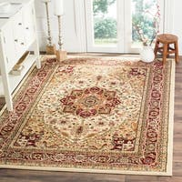 Safavieh Lyndhurst Traditional Oriental Ivory/ Red Rug - 8' x 11'