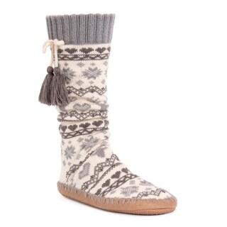 MUK LUKS® Women's Slipper Socks with Tassels