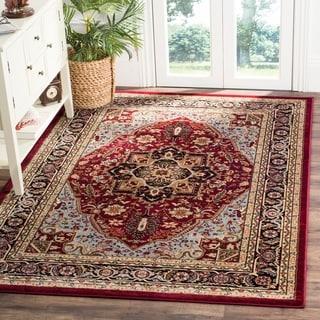 "Safavieh Lyndhurst Traditional Oriental Red/ Black Rug (5'3"" x 7'6"")"