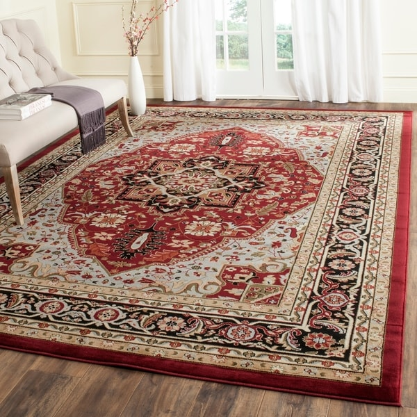 Shop Safavieh Lyndhurst Traditional Oriental Red Black