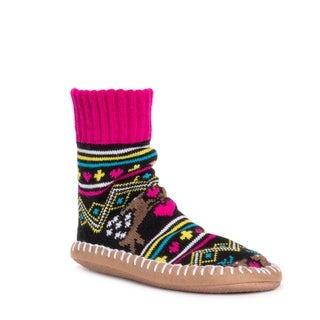 MUK LUKS® Women's Short Slipper Socks
