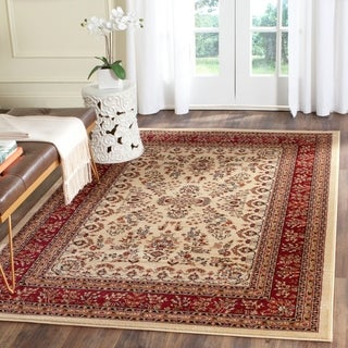 Safavieh Lyndhurst Traditional Oriental Ivory/ Red Rug (5'3 x 7'6)