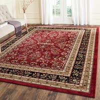 Safavieh Lyndhurst Traditional Oriental Red/ Black Rug - 8' X 11'