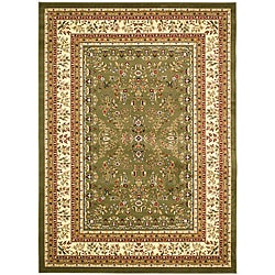 Safavieh Lyndhurst Traditional Oriental Sage/ Ivory Rug (8' x 11')