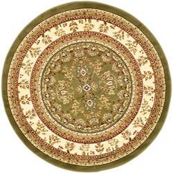 Safavieh Lyndhurst Traditional Oriental Sage/ Ivory Rug (5' 3 Round) - Thumbnail 0