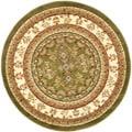 Safavieh Lyndhurst Traditional Oriental Sage/ Ivory Rug (5' 3 Round)