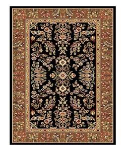 Safavieh Lyndhurst Traditional Oriental Black/ Tan Rug (3'3 x 5'3)