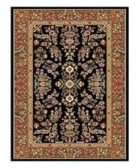 Safavieh Lyndhurst Traditional Oriental Black/ Tan Rug - 3'3 x 5'3