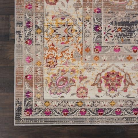 Nourison Vintage Kashan Bohemian Area Rug