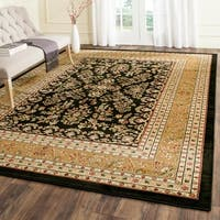 Safavieh Lyndhurst Traditional Oriental Black/ Tan Rug - 8' X 11'
