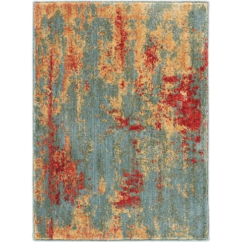Nourison Somerset ST91 Abstract Area Rug