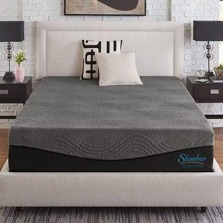 Slumber Solutions Active 10-inch Charcoal Memory Foam Mattress