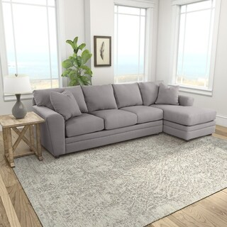 Klaussner Furniture Made to Order Aubrey Sofa Chaise Sectional