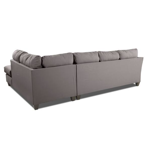 Shop Klaussner Furniture Made to Order Dallas Sofa Chaise ...