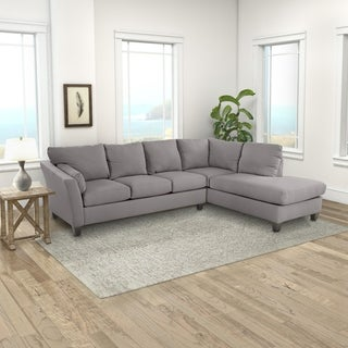 Klaussner Furniture Made To Order Dallas Sofa Chaise Sectional