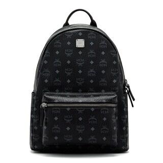 MCM Men's Stark Black Backpack