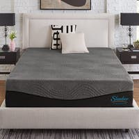 Slumber Solutions Active 14-inch King-size Charcoal Memory Foam Mattress
