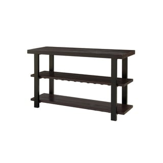 Martin Svensson Home Foundry Solid Wood Sofa Console Table