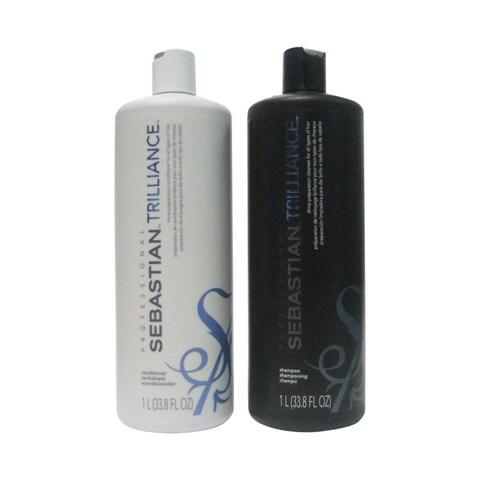 Sebastian Trilliance Polishing 33.8-ounce Shampoo & Conditioner Duo Set