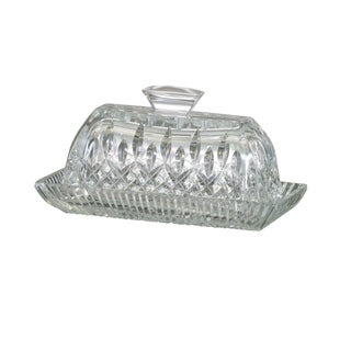 Lismore Clear Covered Butter Dish