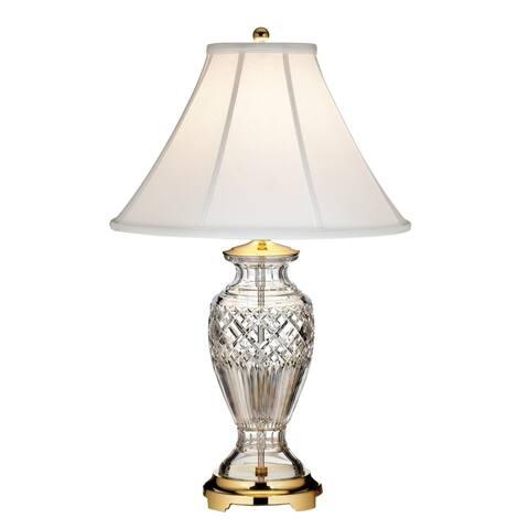 Killarney Polished Brass 27.5-inch Table Lamp