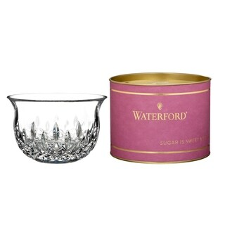 Giftology Clear 5-inch Lismore Sugar Bowl and Berry Tube