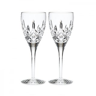 Lismore Nouveau Clear 9oz. White Wine (Set of 2)