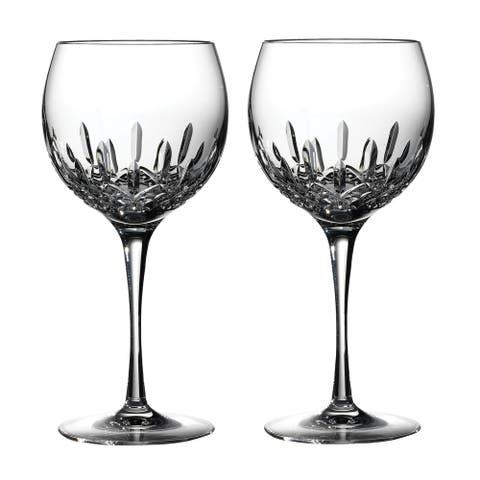 Lismore Essence Clear 18oz. Balloon Wine (Set of 2)