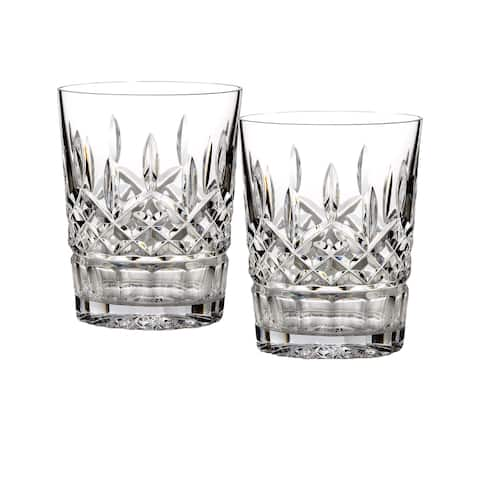 Lismore Clear 12oz. Double Old Fashioned (Set of 2)