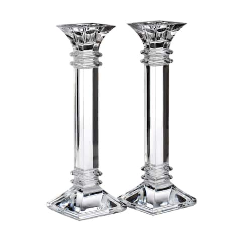 Treviso Clear 10-inch Candlestick (Set of 2)