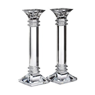 Link to Treviso Clear 10-inch Candlestick (Set of 2) Similar Items in Decorative Accessories