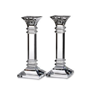 Link to Treviso Clear 8-inch Candlestick (Set of 2) Similar Items in Decorative Accessories