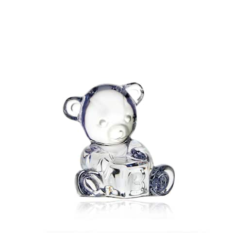 Giftology Clear Baby Bear and Block (Lime Tube)